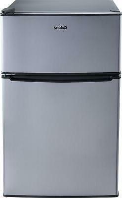Mini Fridge Small Refrigerator Freezer 3.1 CU FT Two Door Co