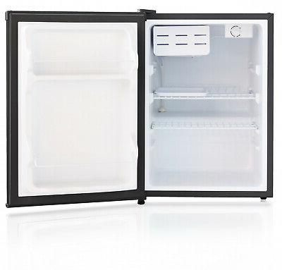 Mini Refrigerator 2.4 Ft Door Fridge Dorm