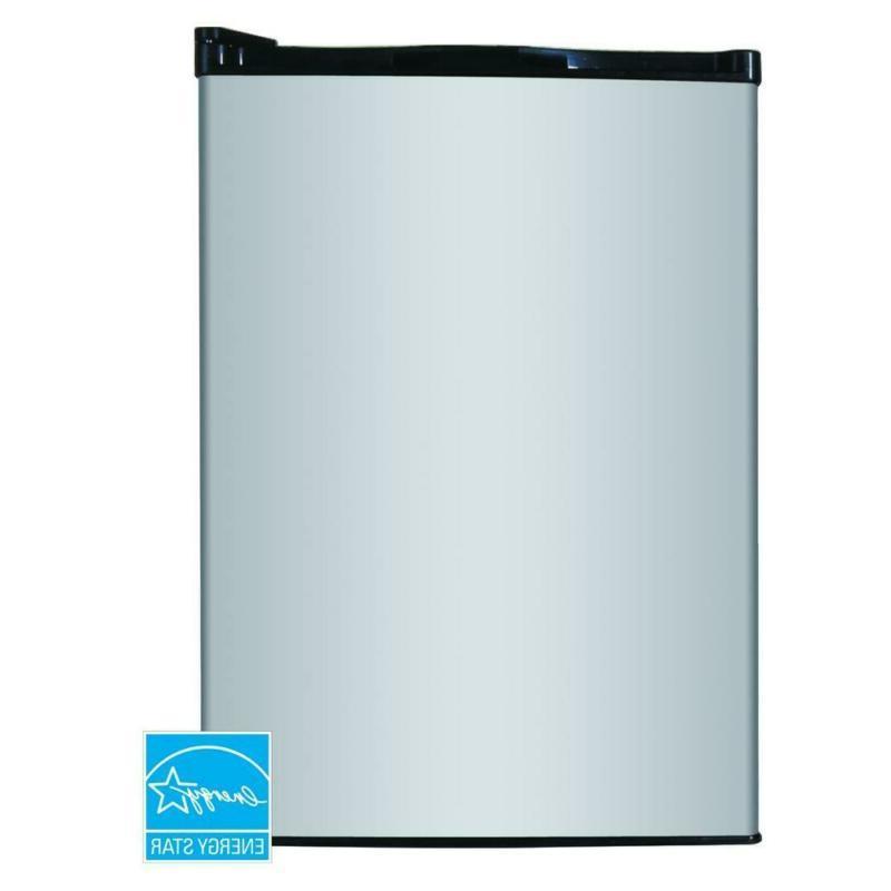 mini fridge in stainless 2 6 cu