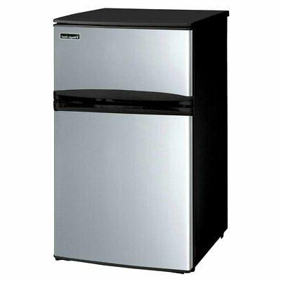 Magic Chef 3.1 cu. ft. Mini Refrigerator in Stainless Look K
