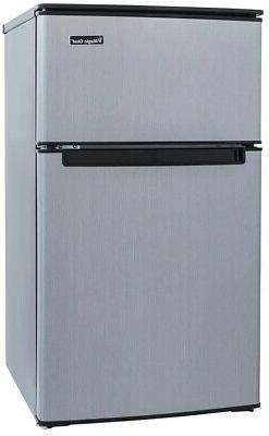 3.1 Cu. Ft. Mini Refrigerator In Stainless Look Full Width F