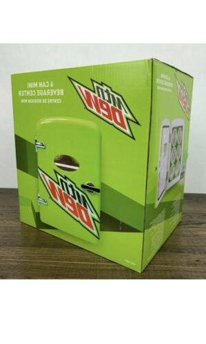 Mt Dew 6 Mini Beverage Center, Or 6 Cans, New.