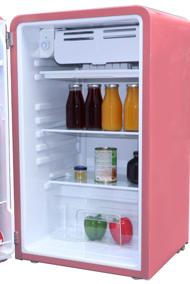 New Cu. Ft. Retro Mini Compact Dorm Office Freezer
