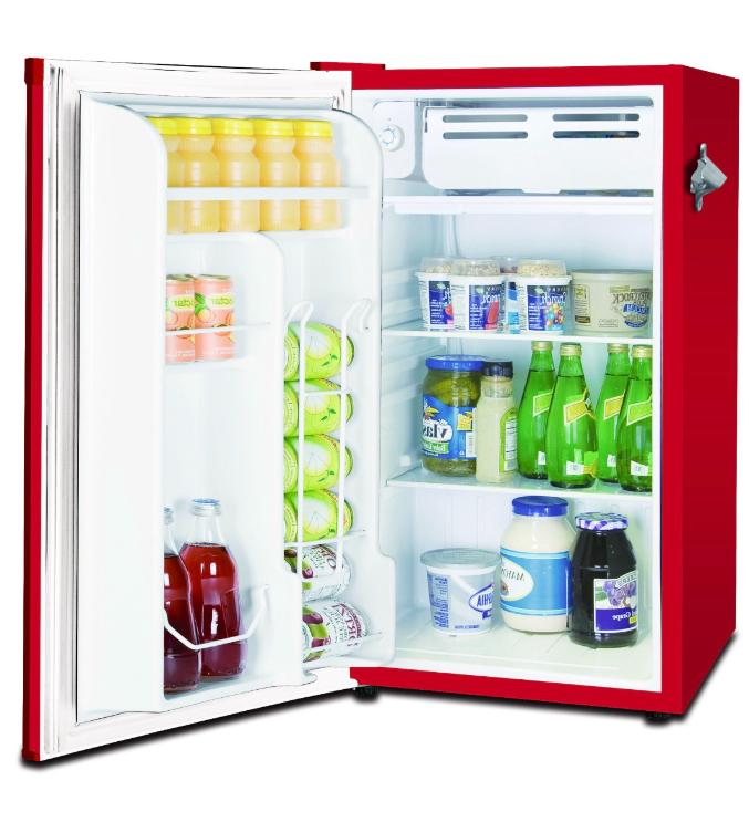 New Retro 3.2 Cu. Fridge Compact Refrigerators Small Office