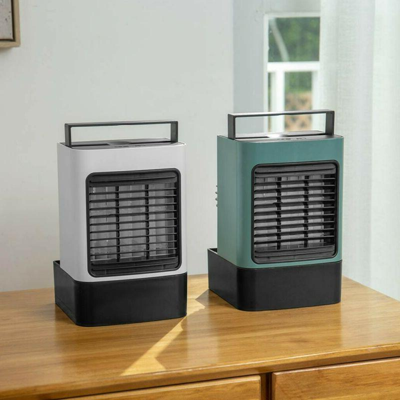 New USB Charging Mini Portable Air Conditioning Fan Home Ref