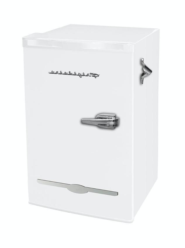 New White Ft. Mini Fridge Small Dorm Cooler