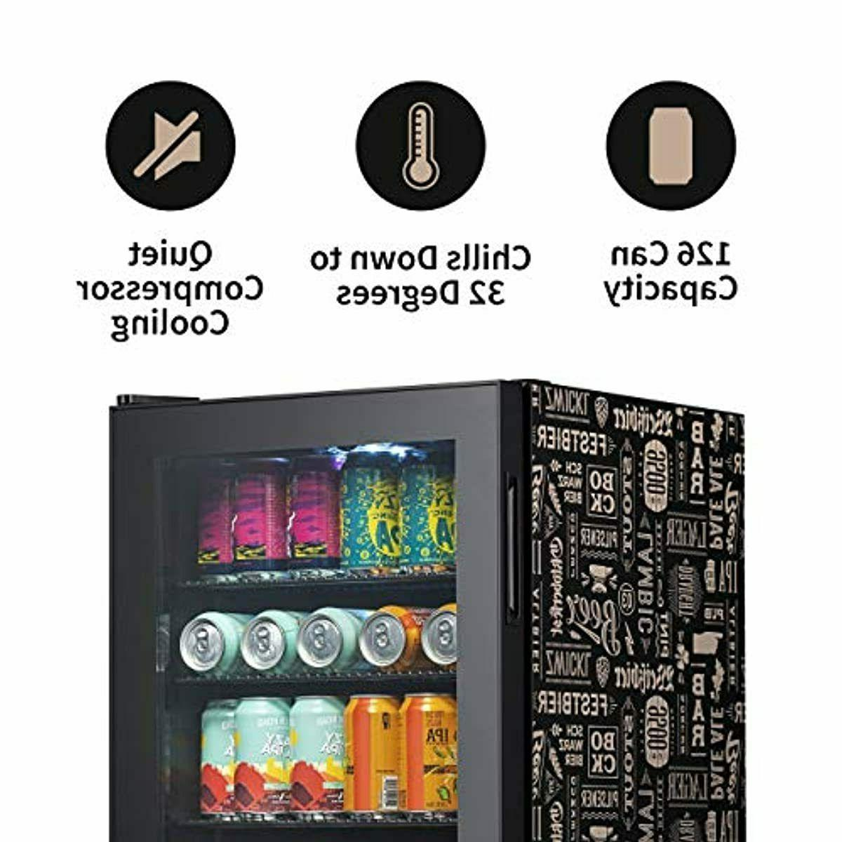 NewAir Beverage Fridge, Steel