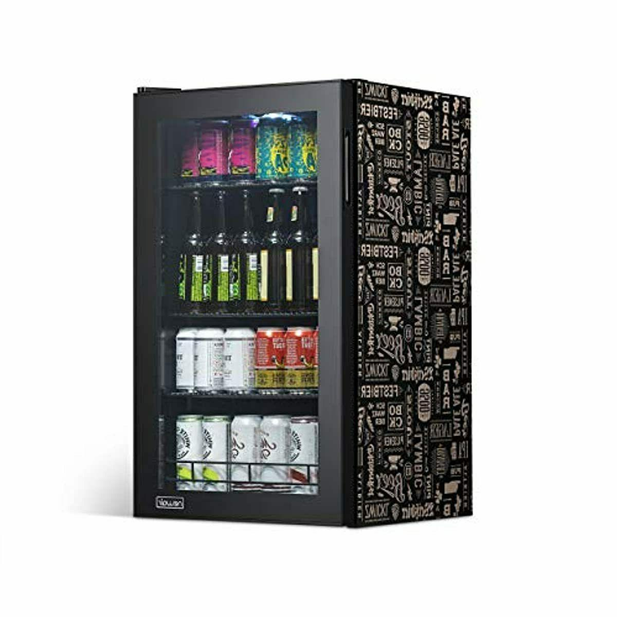 newair 126 can freestanding beverage fridge stainless
