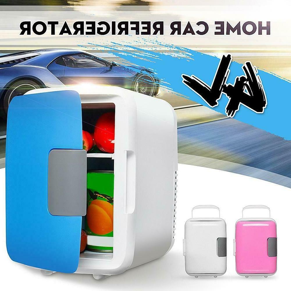 Portable Mini Fridge Table Top Electric Small Cooler Bedroom