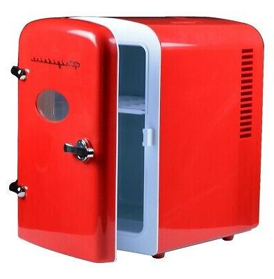 Portable Cool Personal Mini Fridge Compact Cooler Home Office