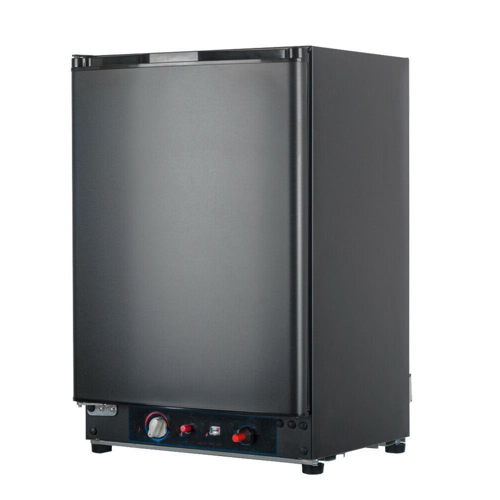 Smad 2.1 cu ft 3 Way Gas Fridge 12V/110V/Gas RV Refrigerator