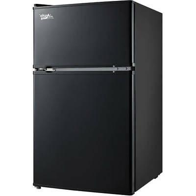 3.2 Mini Freezer 2-Door Home Office New