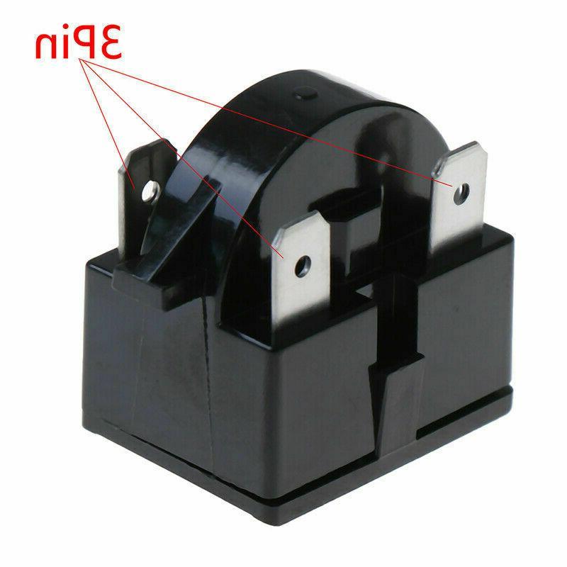 Refrigerator Start Relay QP-2-4.7 Pin Danby Compressor