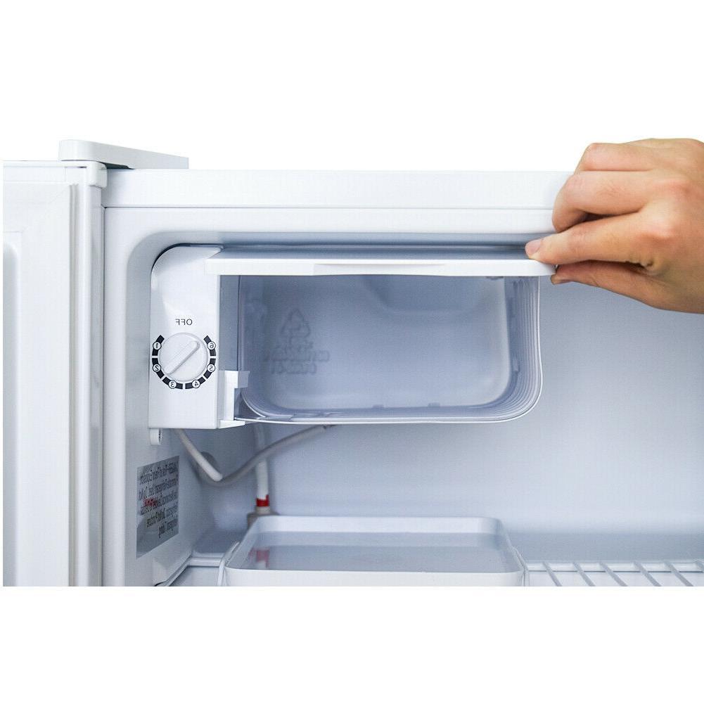 Smad Cubic Feet Mini Freezer Dorm Compact Refrigerator