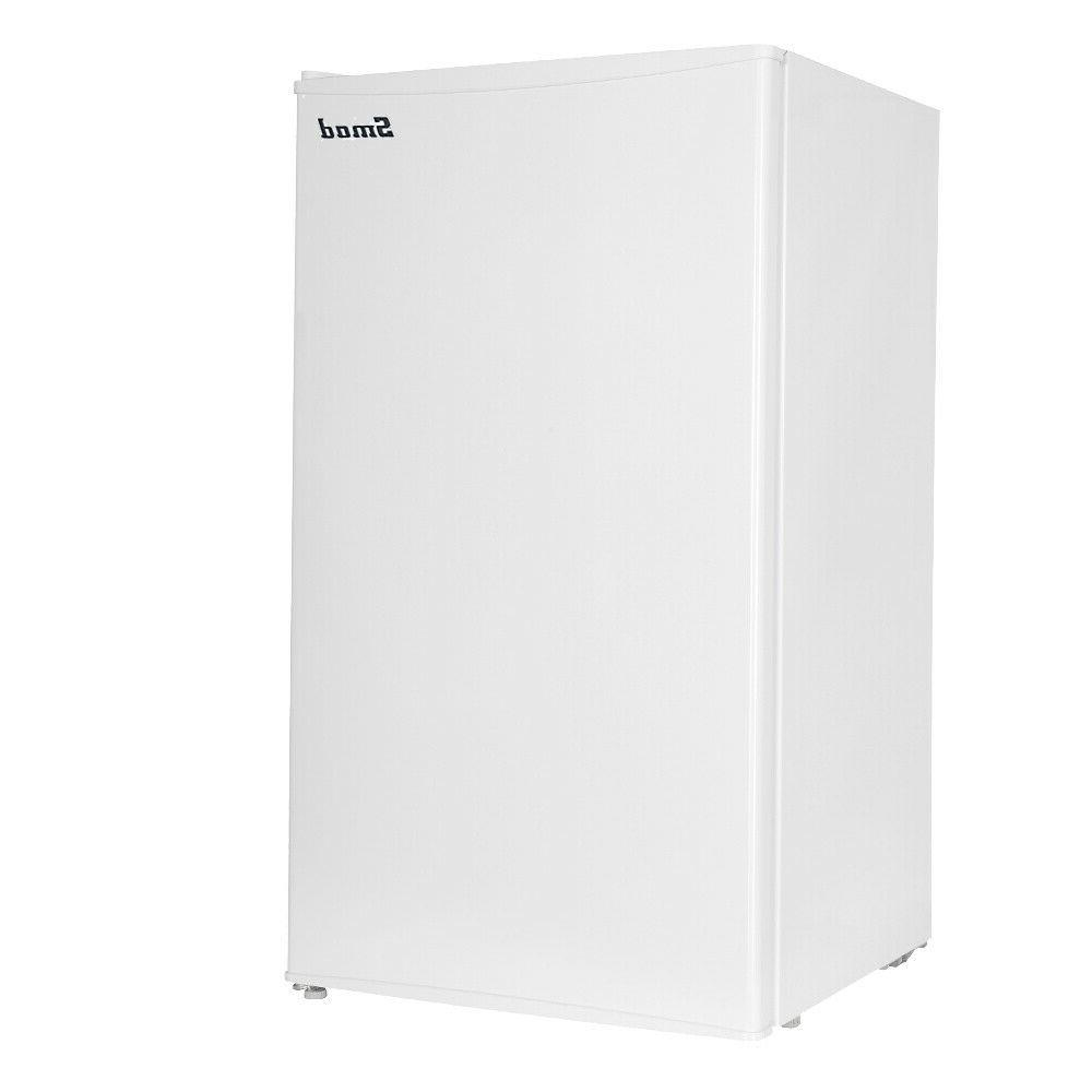 Smeta 3.3 Cubic Feet Mini Fridge Freezer DSF-121MU Small Ref