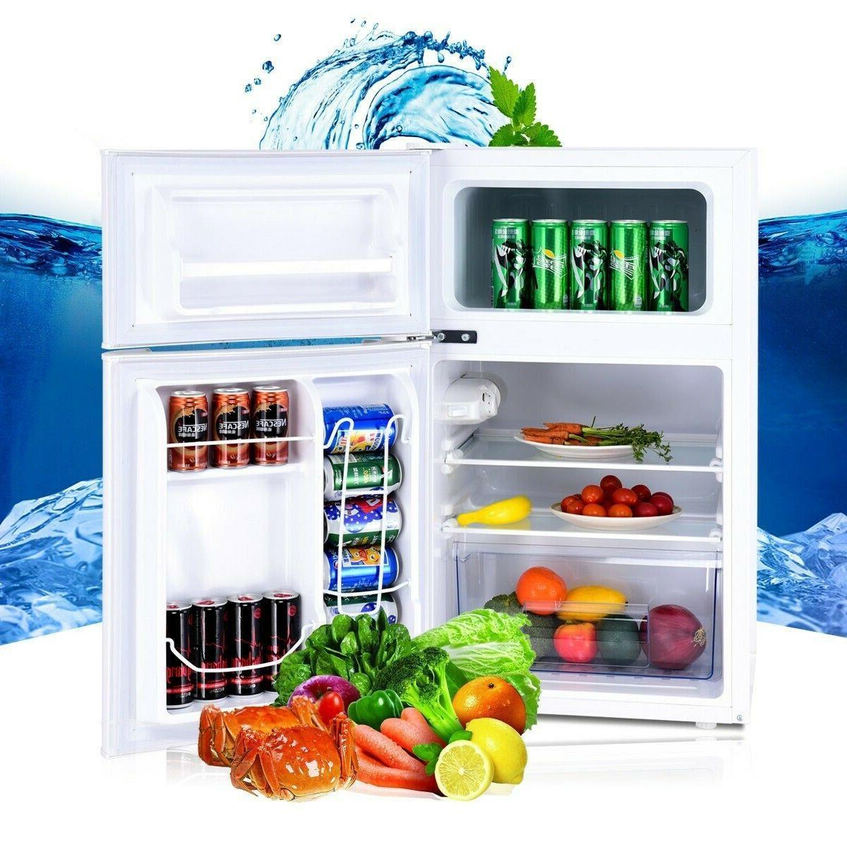 White Refrigerator Refrigerators With Mini Apartment