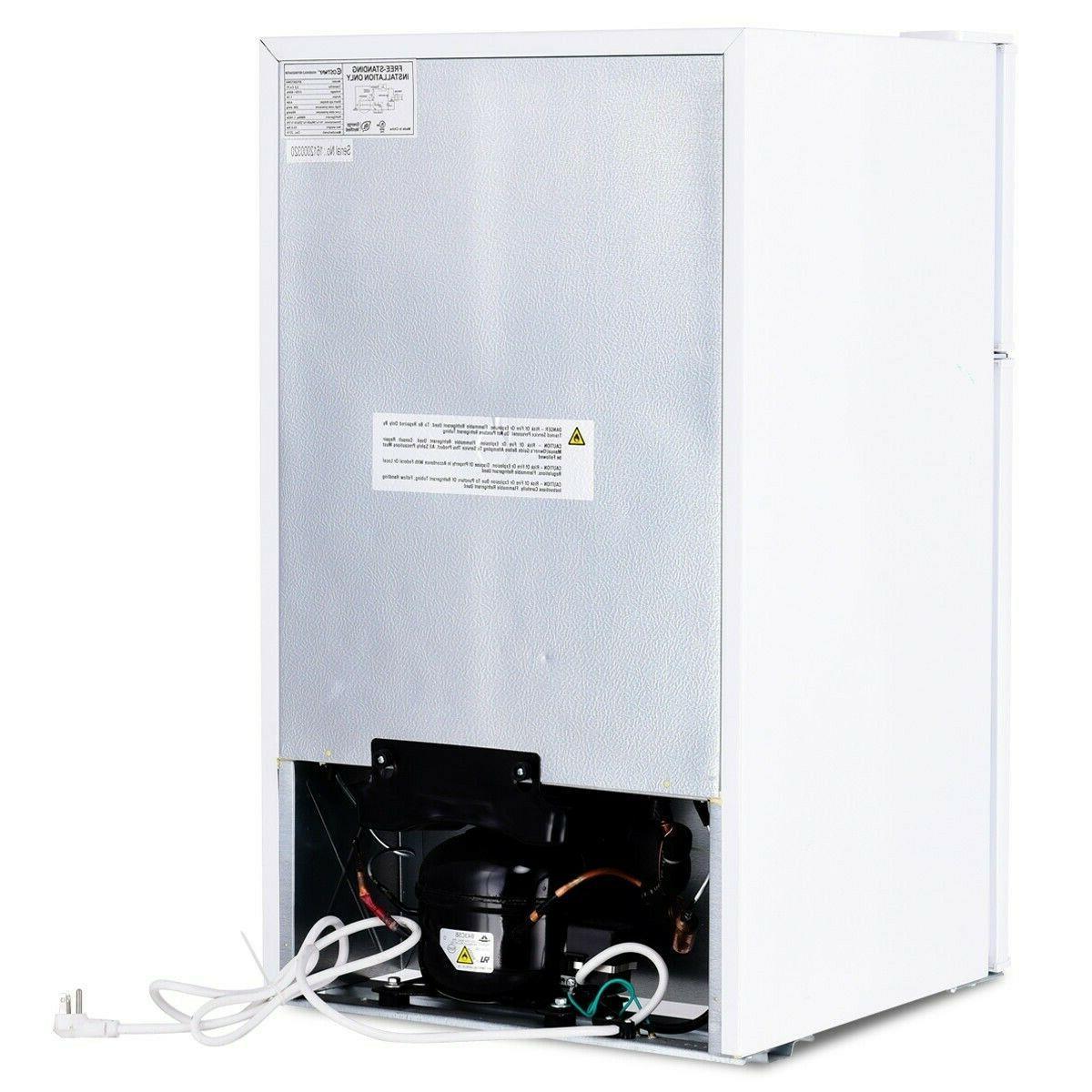 White Refrigerators With Apartment 3.2cu