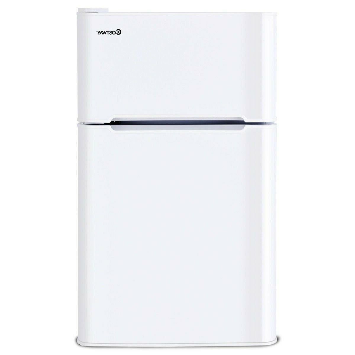 White Refrigerator Refrigerators With Freezer Apartment