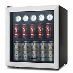 Mini KUPPET 62-Can Beverage Cooler Refrigerator adjustable s
