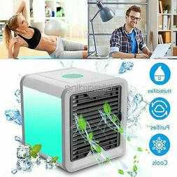 Mini Air Conditioner Cooler Portable Summer Space Cooling Fa