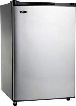 Mini Fridge RCA 3.2 Cu Ft Single Door With Freezer, Stainles