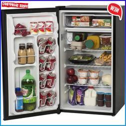 MINI FRIDGE 3.3 Cu Ft Compact Home Food Black Refrigerator D