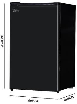 Mini Fridge 4.4 Cu Ft Compact Refrigerator Dorm Single Door