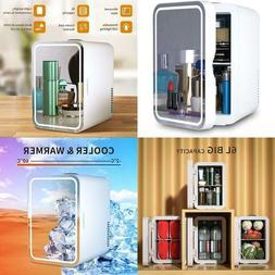 Mini Fridge 6 Liter Ac/Dc Portable Beauty Fridge Thermoelect
