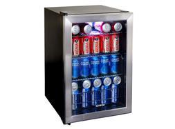 NewAir Mini Fridge Refrigerator, 84 Can Cooler, Compact, Dor