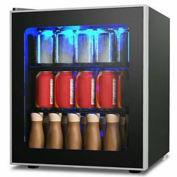 MINI FRIDGE REFRIGERATOR Can Beverage Cooler 1.6 Cu. Ft Remo
