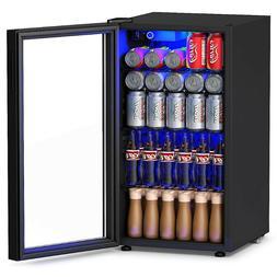 MINI FRIDGE REFRIGERATOR Can Beverage Cooler 3.2 Cu. Ft Remo