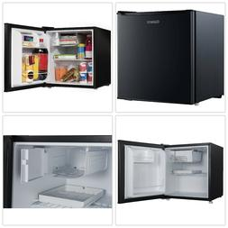 Mini Fridge Single Door Refrigerator Adjustable Black Thermo