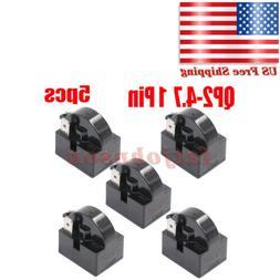 For Mini Fridges QP2-4.7 4.7 Ohm 1-Pin PTC Starter Start Rel