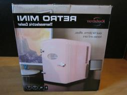 MINI REFRIGERATOR Koolatron PINK 6-Can Fridge Retro Cooler 1
