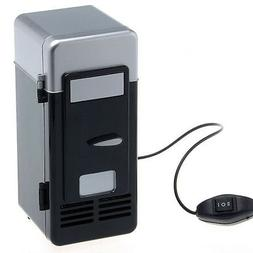 Mini USB Fridge Refrigerator for Single Drink Can Cooler for