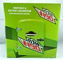 Mt Dew 6 Can Mini Beverage Center, 120 Or 12 Volt, Holds 6 1