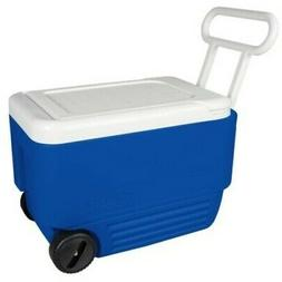 NEW Igloo 38-Quart Wheelie Cool Cooler with Handles - Majest