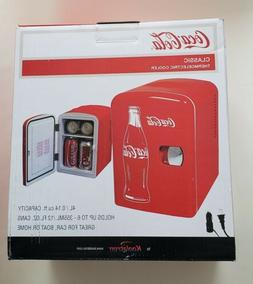 NEW 4 Liter/6 Can Portable Mini Fridge Cooler Thermoelectric