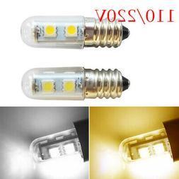 E14 LED Light Bulb Lamp Replacement Refrigerator Hood Applia