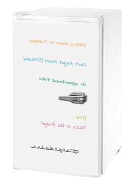New White 3.2 Cu. Ft. Retro Mini Fridge Compact Refrigerator