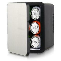 NutriChef Electric Cooler & Warmer Mini Fridge W/ Thermo Hea
