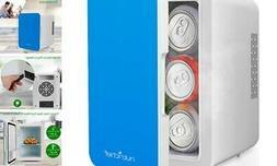 nutrichef portable mini fridge personal compact electric