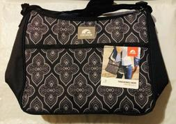 NWT Igloo Mini Crescent Insulated Cooler Bag - BLACK / GRAY
