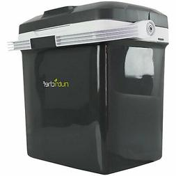 NutriChef PKTCEC28SL 28 Liter Portable Electric Cooler and W
