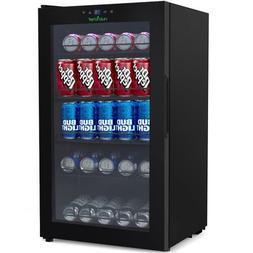 NUTRICHEF PKTEBC80 Compact Beverage Fridge- Can Chiller Refr