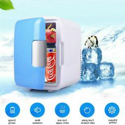 Portable 4L Mini Refrigerator Fridge Travel Auto Car Freezer