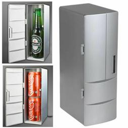 Portable Fridge Mini Cooler USB Refrigerator Beverage Drink