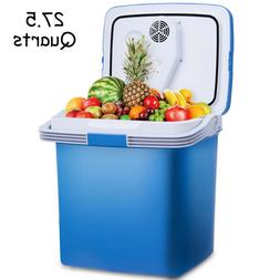 PORTABLE FRIDGE Mini Small Refrigerator Food Warmer 12V DC V