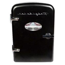 Frigidaire Portable Retro 6-can 4L Mini Fridge, EFMIS129-Bla