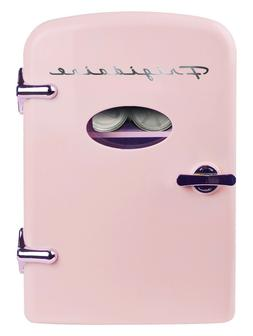 Frigidaire Portable Retro 6-can Mini Fridge EFMIS129, Pink